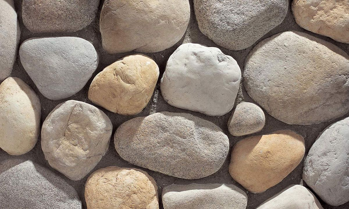 River Rock Rio Grande For Details And Additional Information On Our Manufacturedstone Products Plea River Rock Stone Eldorado Stone River Rock Fireplaces