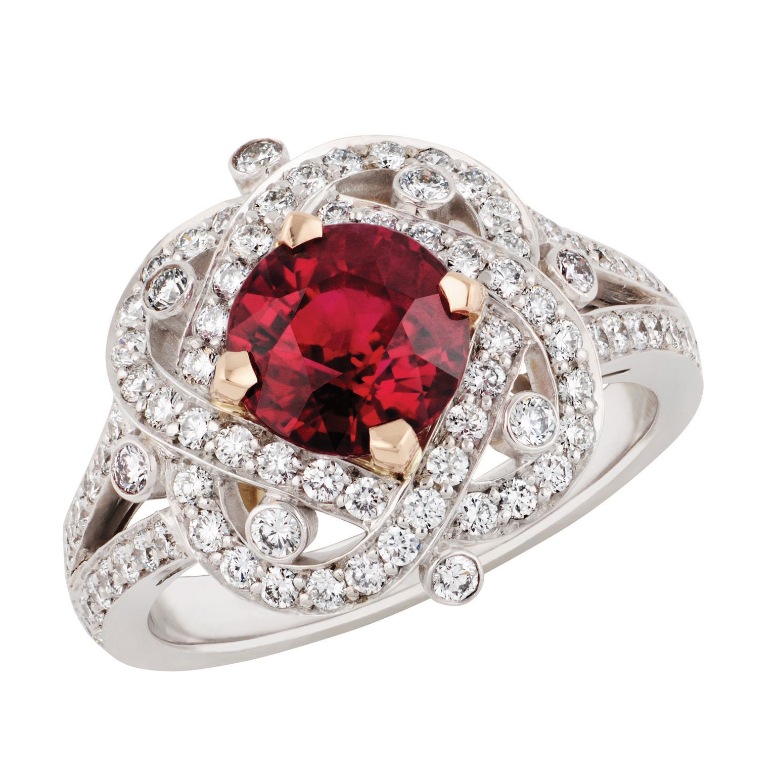 Fabergé Xenia Ruby Ring