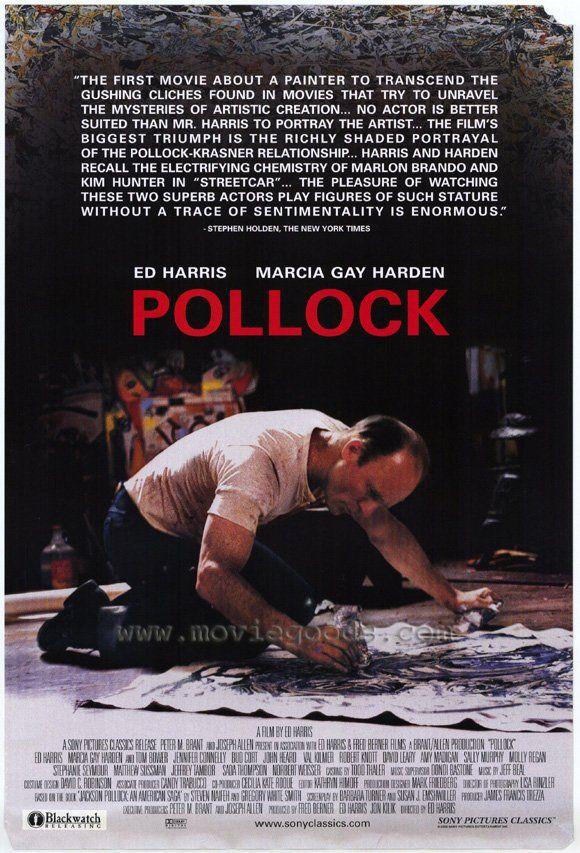 Pollock Movie Posters Movie Posters Vintage Film Big