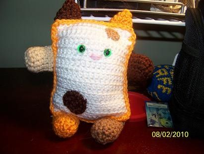 Crochet cat calico or any colors you want by EEKsCreations on Etsy, $12.75