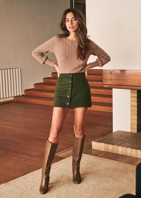 Andrea Boots - Blush - Goat Leather - Sézane