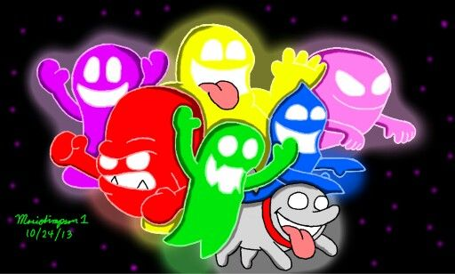 Ghosts From Luigi S Mansion Dark Moon My Favorite One Is