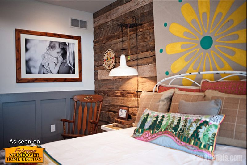 Our Faux Wood Rustic Barnboard Panels Create A Rugged