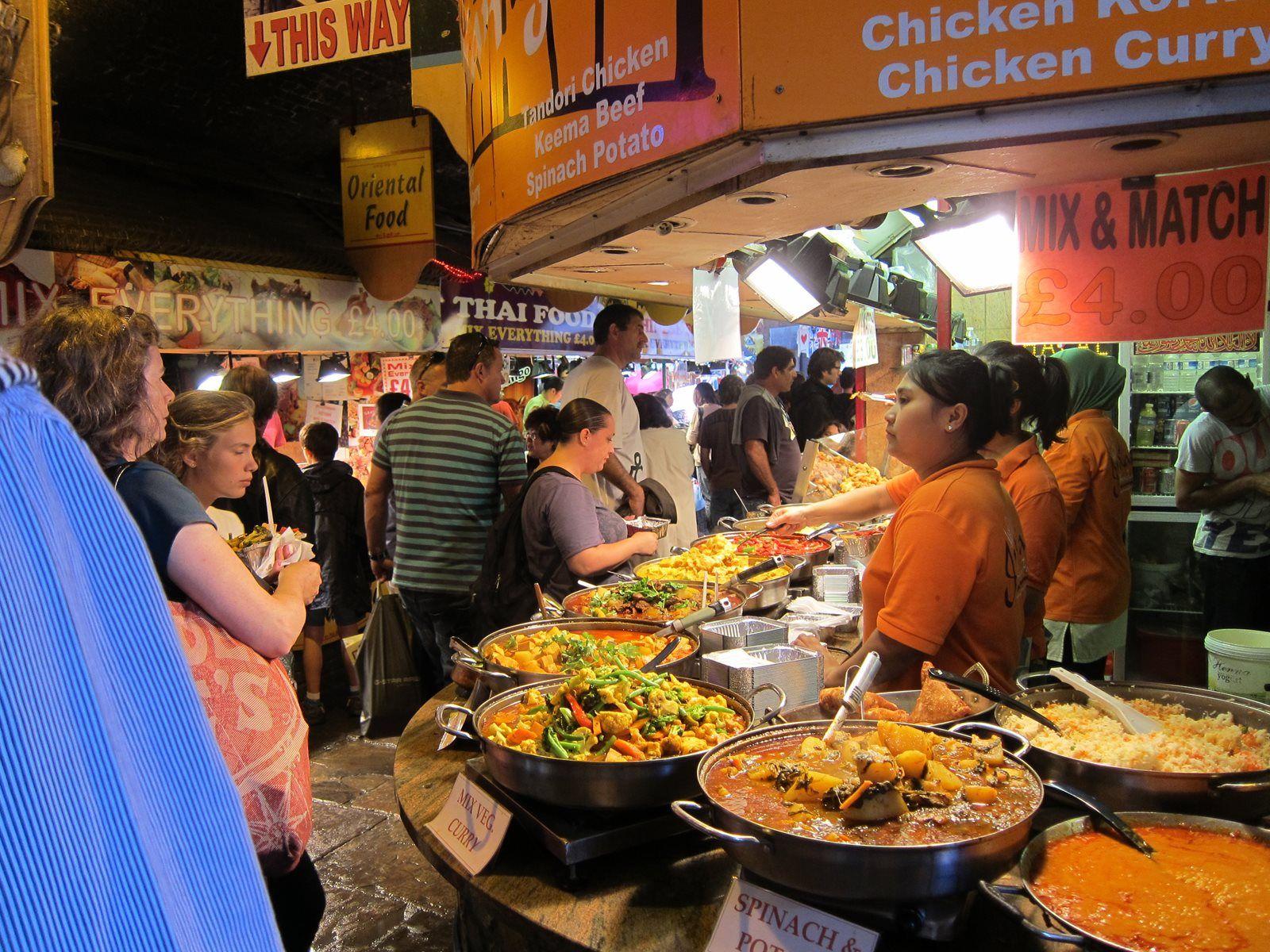 14 Tasty Street Food Markets To Visit In London Street