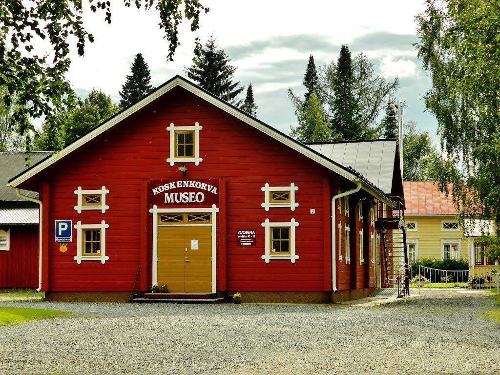 Koskenkorva Museo. Koskenkorva, Ilmajoki, Finland.