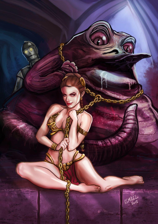 Leia slave costume with Jabba by ismaelArt.deviantart.com on @deviantART  sc 1 st  Pinterest & Leia slave costume with Jabba by ismaelArt.deviantart.com on ...