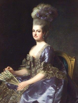 Alexandre Roslin, Erzherzogin Marie Christine, 1778. Albertina, Wien (Dauerleihgabe der Oesterreichischen Nationalbank)