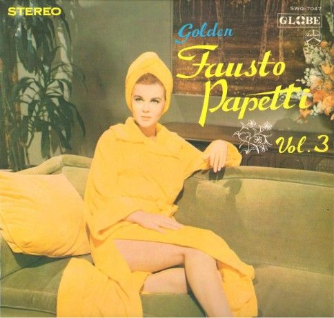 Ann-Margret on Fausto Papetti record cover