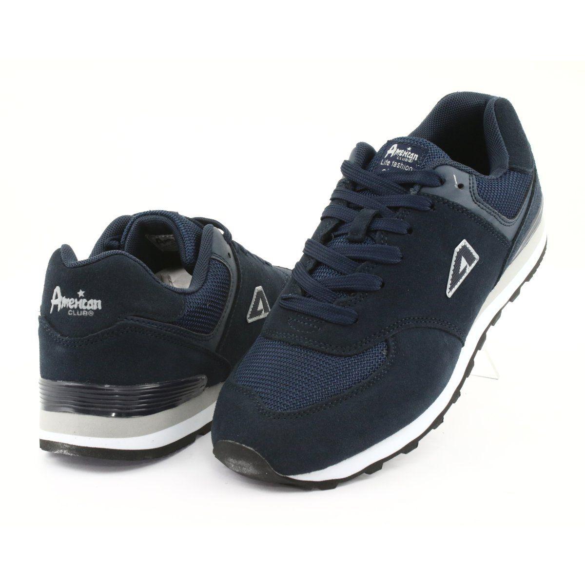 American Club Buty Sportowe Joggingi Ha27 Granatowe Comfortable Shoes Club Shoes Sports Shoes