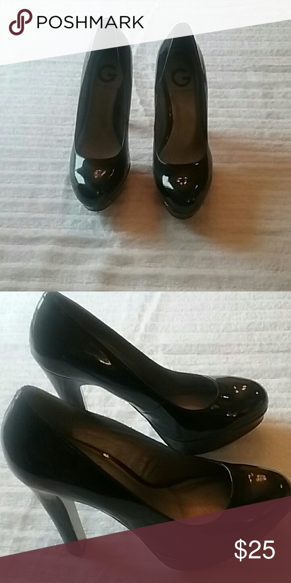 f48e36b4314 Beautiful By Guess Black High Heels $25 Black By Guess 4