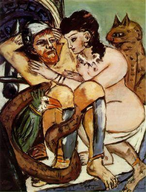 Odysseus and Calypso, by Max Beckmann
