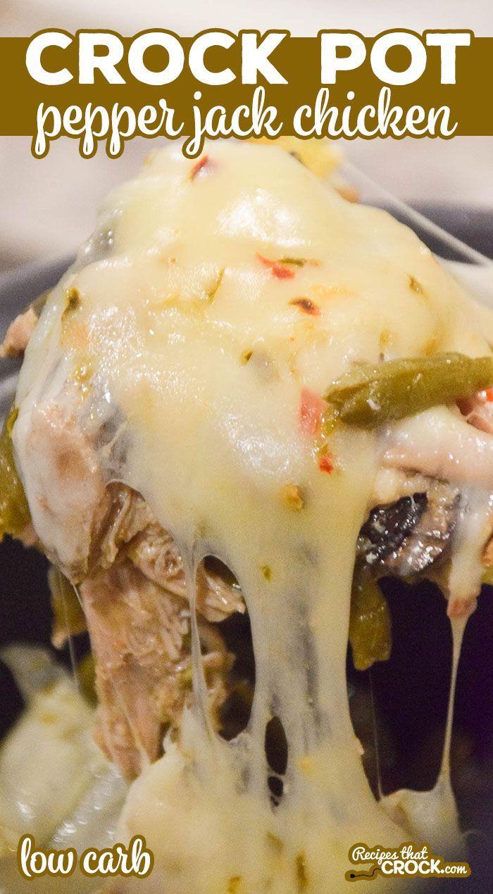 Crock Pot Pepper Jack Chicken - Recipes That Crock!