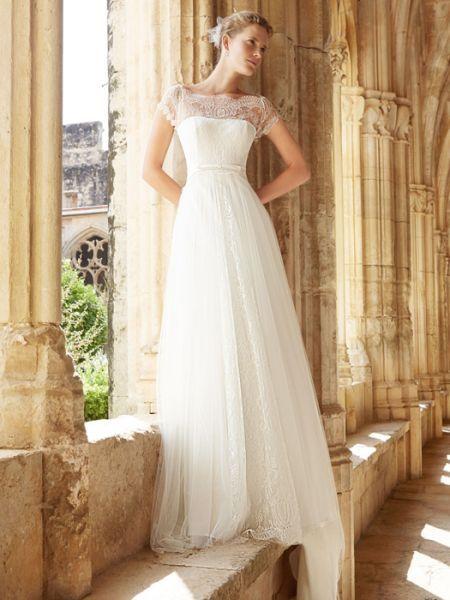 0b6f6d929 Raimon Bundó 2015  vestidos de novia elegantes y sencillos Image  10 ...