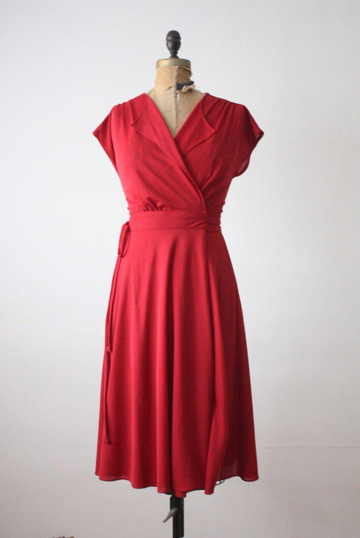 Wrap Dress Vintage 1970 S Cranberry Wrap Dress Etsy Dresses Wrap Dress Vintage Wrap Dress [ 1500 x 1004 Pixel ]