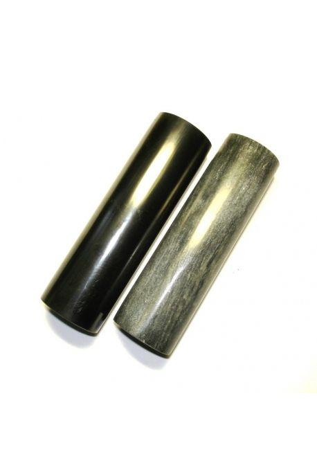 Cilindros-armonizadores shungite y talkohlorit pulido - El diámetro de los cilindros de pulido de 28 mm-32 mm. La longitud de 100-110mm. 480gr de peso - 400 rublos (* 5,80 €)