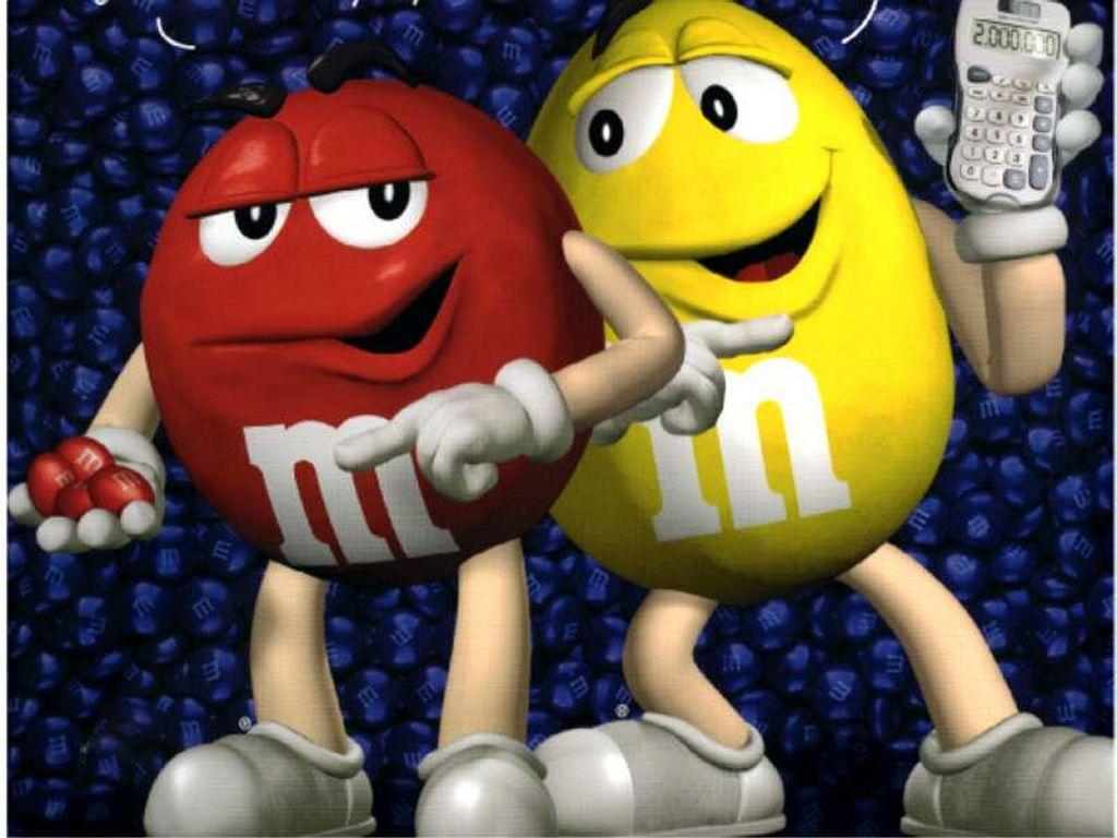 Cartoons Wallpaper : The Little M&M