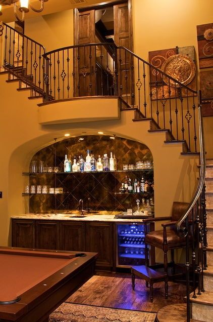 Spanish Style Wine Bar Home Bar Designs Bars For Home Bar Under Stairs