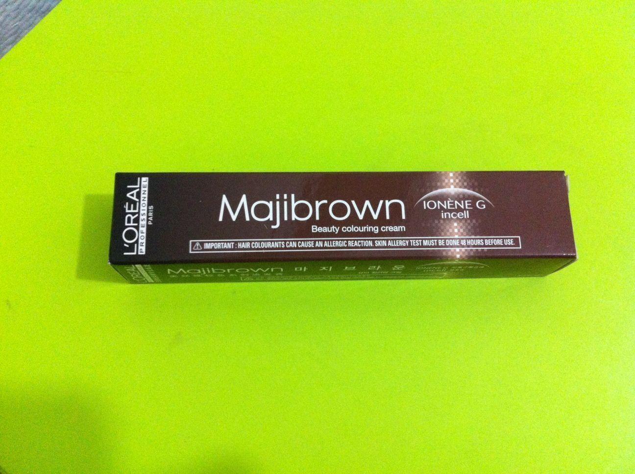 1 X L\'Oreal Loreal Majibrown Hair Permanent Color 50Ml / 100Ml ...