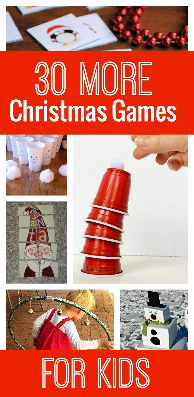 30 More Awesome Christmas Games for Kids | Kid check, Boredom ...
