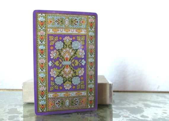 Vintage Deck of Cards Congress Playing Cards CelUTone by ElmPlace,