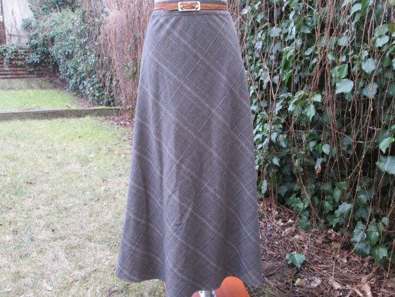 Long Warmer Skirt Vintage / Maxi / SIZE EUR36 / by RauzaBoutique