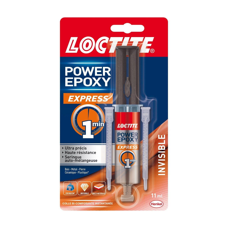 Colle Seringue Epoxy Express Loctite 13 G Seringue Epoxy Et Colle Epoxy