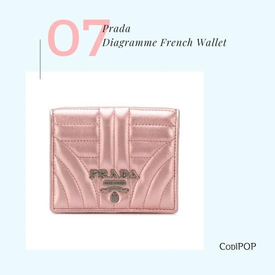 baa3fae99 Prada Diagramme French Wallet Designer Wallets, Branding Design, Style  Icons, Beauty Tips,