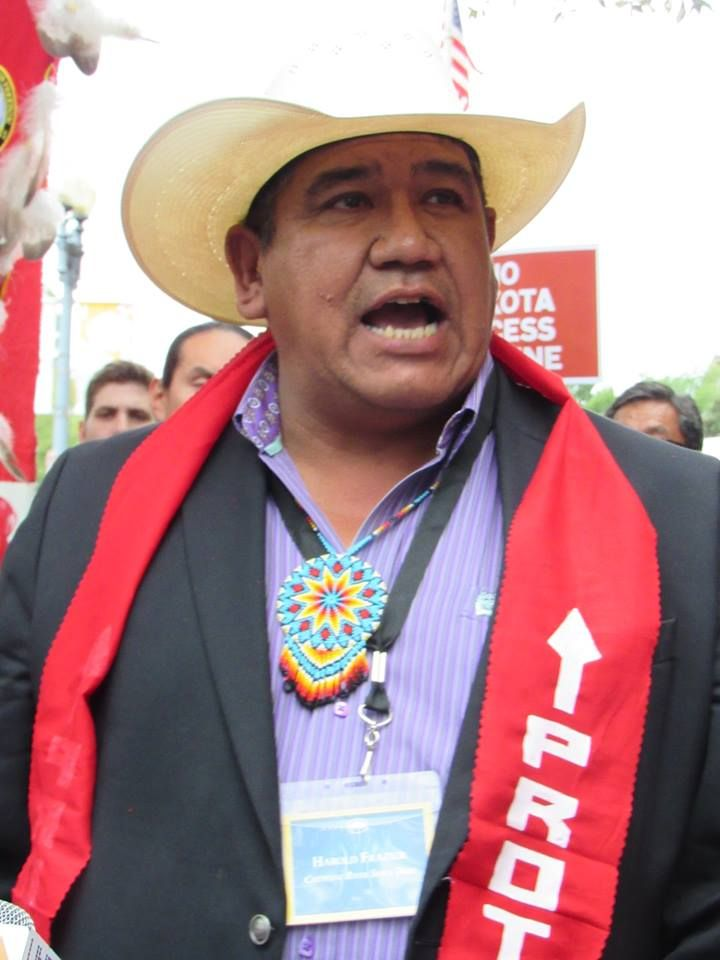 Cheyenne River Sioux Tribal Chairman Harold Frazier In Washington After White House Tribal Nations Conference Native N Standing Rock Protest Obama Today Sioux