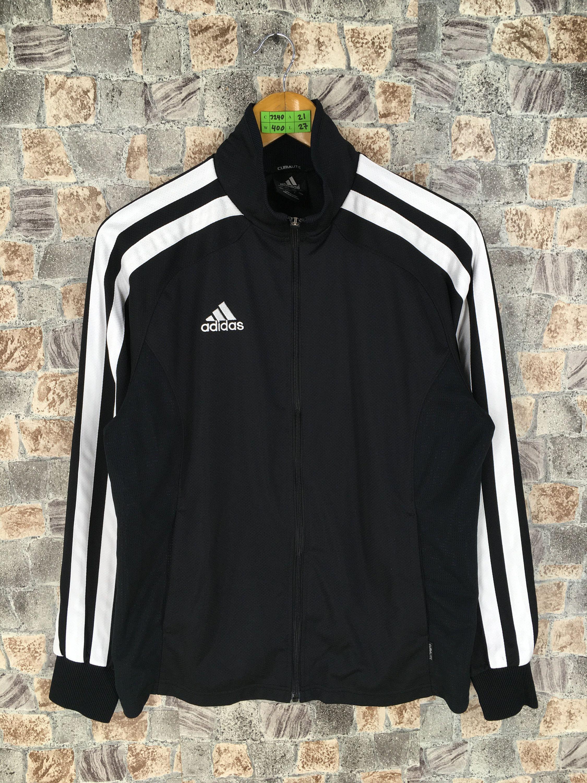 Vintage 90 S Adidas Track Top Jacket Medium Adidas Equipment Three Stripes Outerwear Tracksuit Adidas Sports Black Streetwear Jackets Jacket Tops Zipper Coats [ 3000 x 2250 Pixel ]