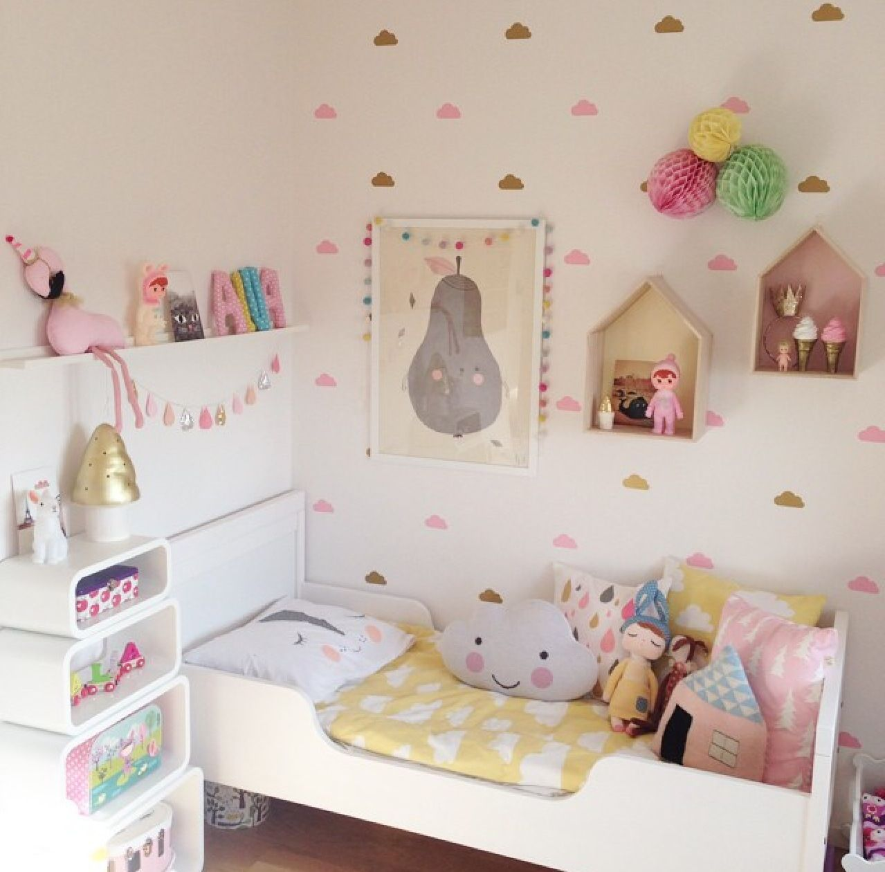Jugendzimmer wandkunst nice  pinni  pinterest  kinderzimmer und kinder