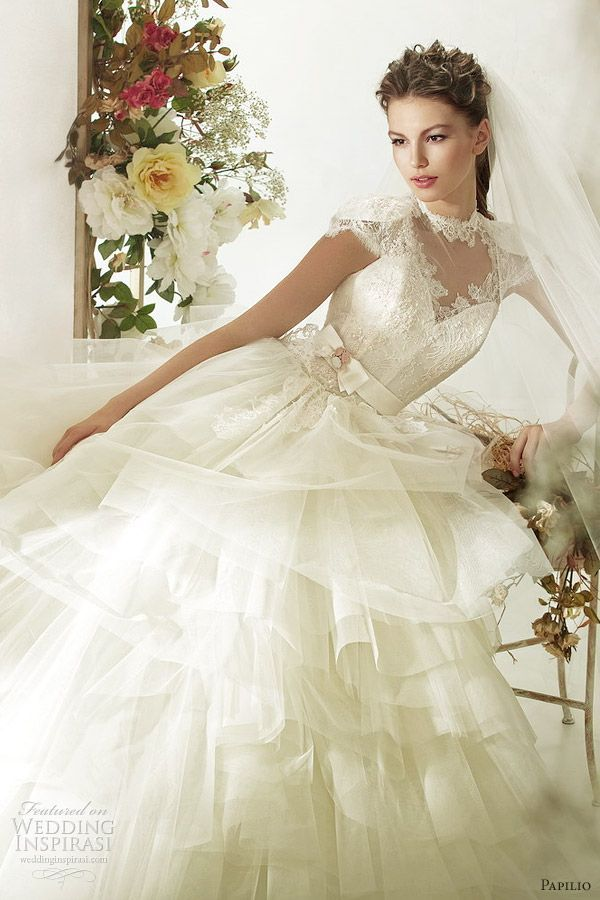 Pin von hadani dee auf my wedding idea | Kleid hochzeit ...