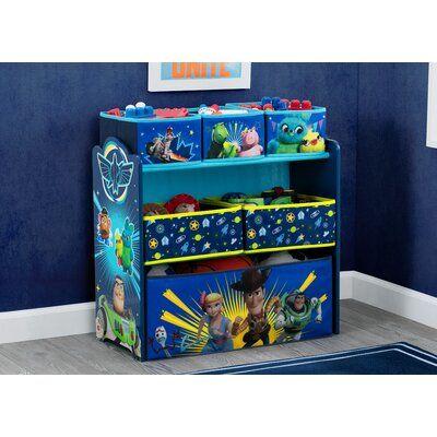 Delta Children Disney Pixar Toy Story Toy Organizer In 2019 Products Toy Organization Delta Children Toys