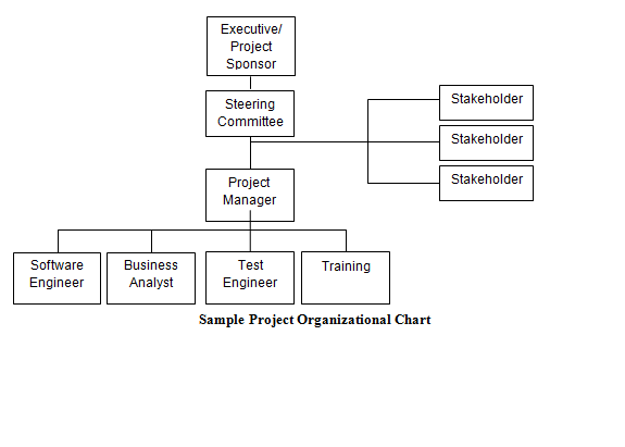 Sample Project Organizational Chart Download For Project