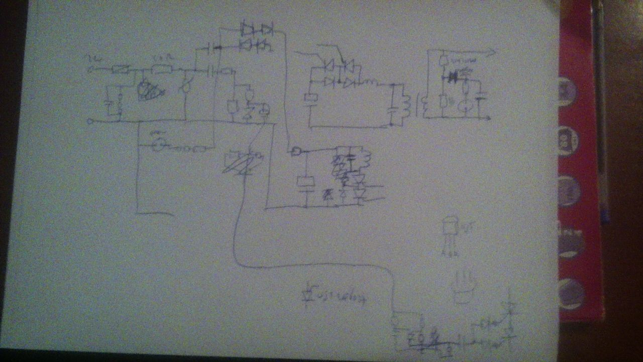 Gallagher Equimaster Electric Fence Schematic Drawn From The Circuit Wow Engineering Schematics Board Not Complete But Enough For