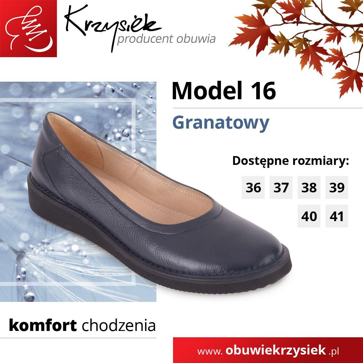 Polbuty Damskie Model 16 Granatowe Dress Shoes Men Loafers Men Oxford Shoes