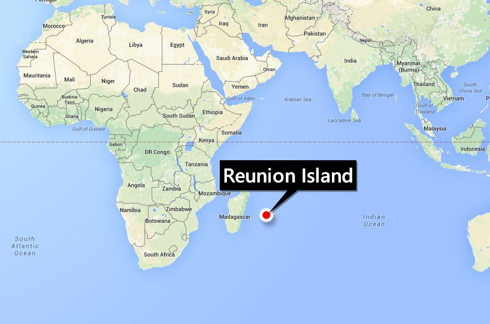 Reunion Island  Bing Maps  Incredible Disasters  Pinterest