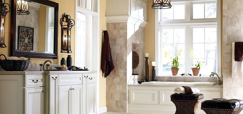 Miraculous Thomasville Bathroom Cabinets Maple Pearl Paint By Cabinetry Interior Design Ideas Clesiryabchikinfo
