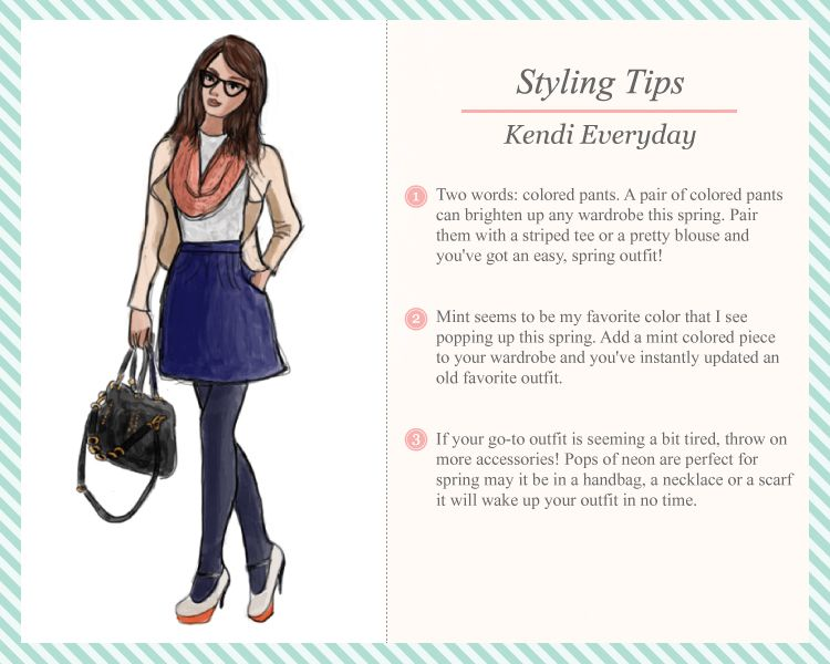 Ruche Styling Tips (hey! I know that girl!) :)