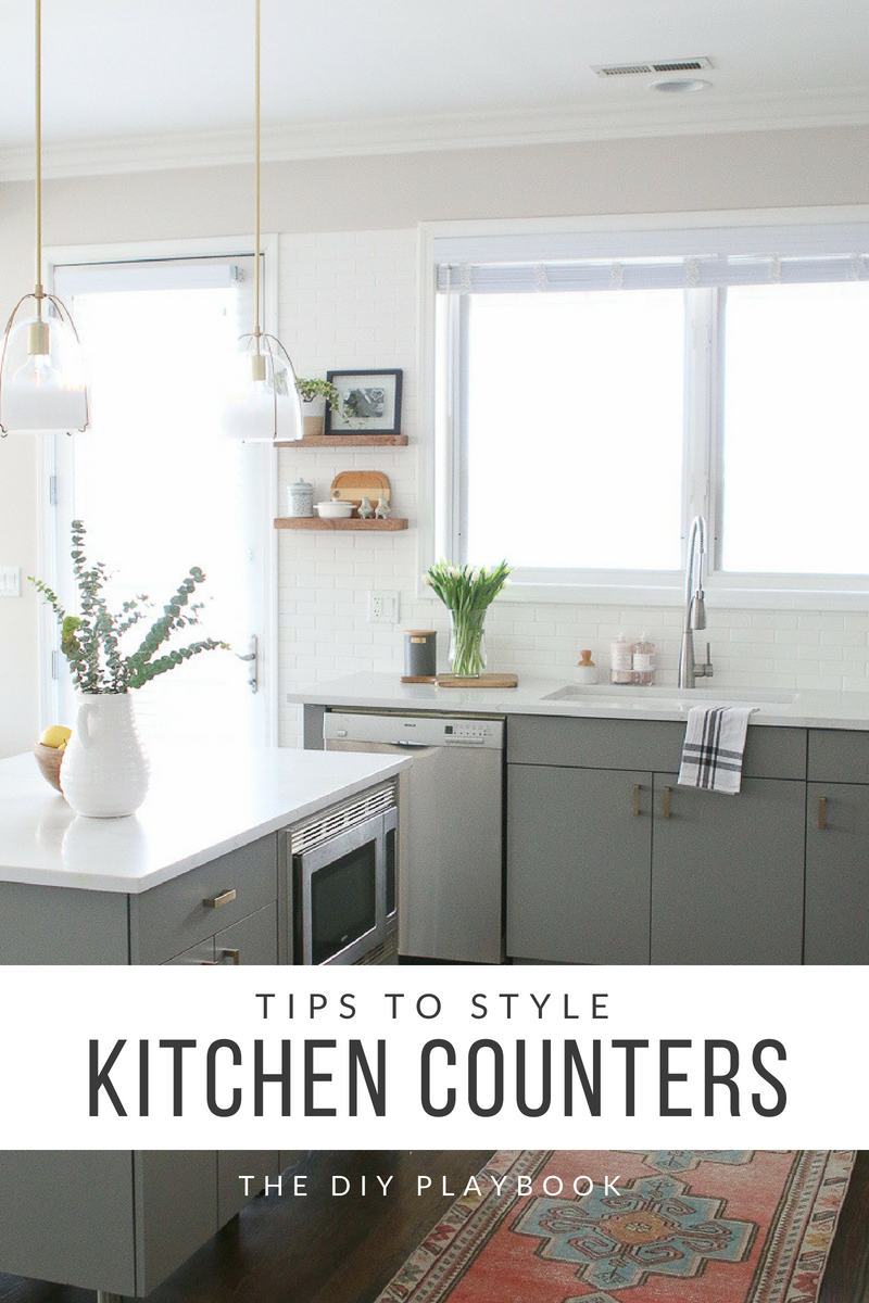 How To Combat Countertop Clutter In Your Kitchen Replacing Kitchen Countertops Grey Kitchen Cabinets Grey Kitchen