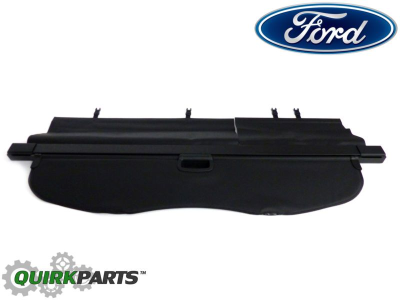 2015 2016 Ford Edge Retractable Cargo Cover Trunk Privacy Shade Black Oem New Ford Edge Cargo Cover Ford