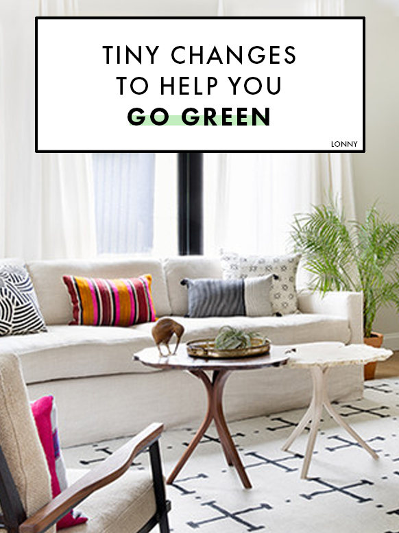 10 tiny changes to help your home go green decorating ideas eco rh pinterest ca