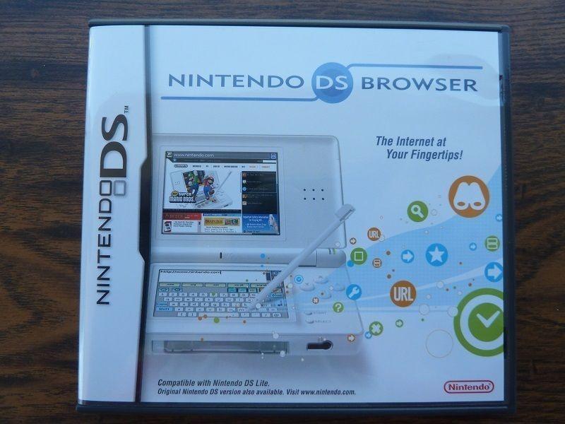 Nintendo DS Internet Browser Complete w/ Game Case Memory Expansion Pak  #sale    #ebay  +eBay