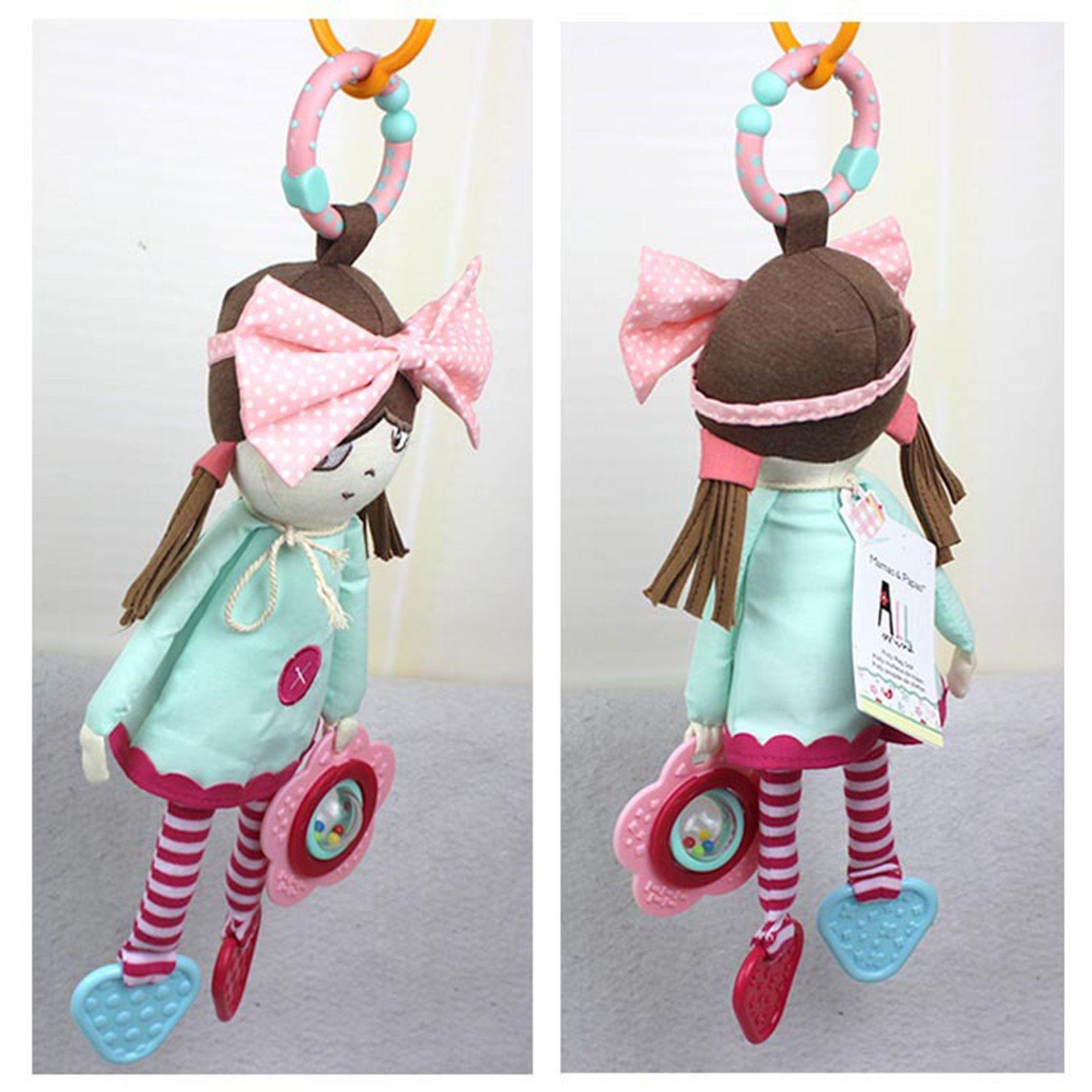 Baby Speelgoed Developmental Zuigeling Mobiele In de Crib Musical Rammelaar Babyrammelaars Pop Knuffel Opknoping In De Kinderwagen