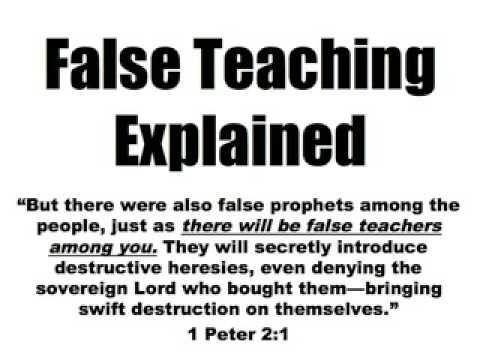 7 False Teachings Christians MUST Avoid!! - YouTube