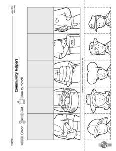 Community Helper Preschool Printables -