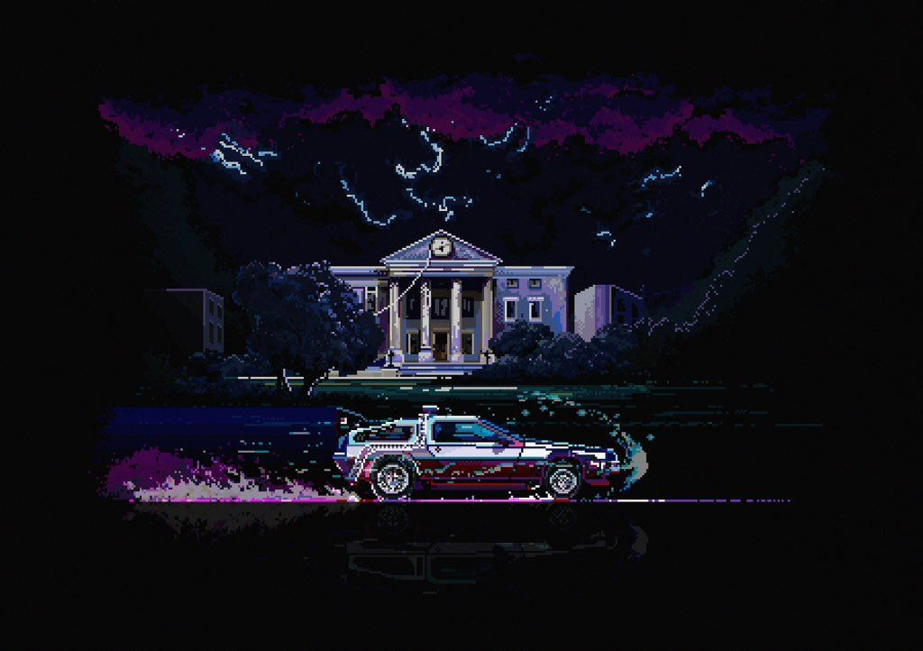 #Back_To_The_Future by Evgeniy Yudin (@Mazokpixels)   Twitter