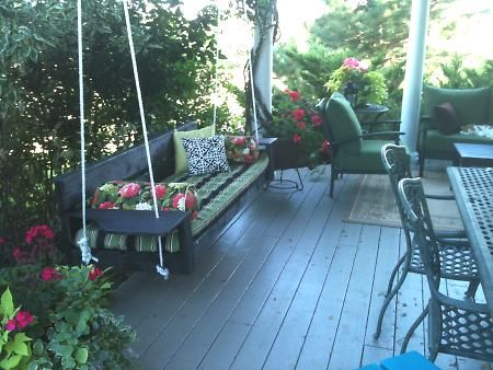 Plans For A Modern Oversized Porch Swing Diy Porch Swing Porch