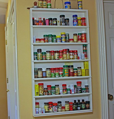 Spice Racks For Walls | In Actuality, This Is Probably More What My Spice  Rack
