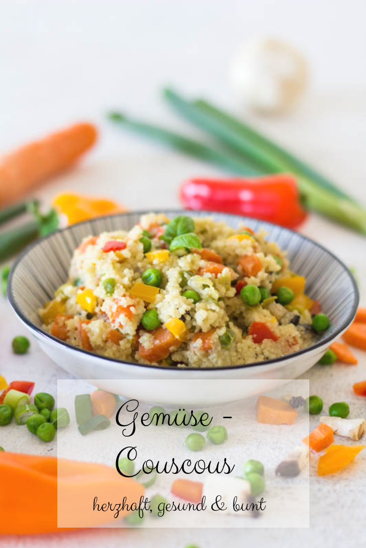 Photo of Gemüse Couscous – herzhaft, gesund & bunt ⋆ Lieblingszwei * Mama- & Foodblog