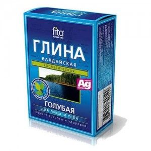 Błękitna glinka Wałdajska wydobywana jest na ekologicznie czystym terenie Rosji.Glinka ma
